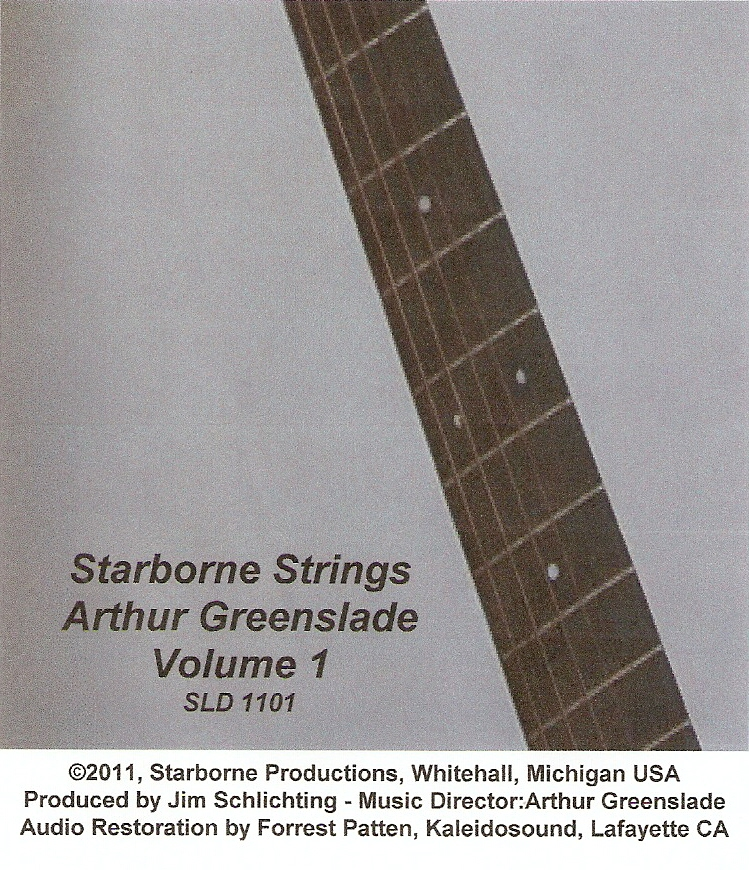 Volume #1 - Starborne Strings (Arthur Greenslade - Music Director)